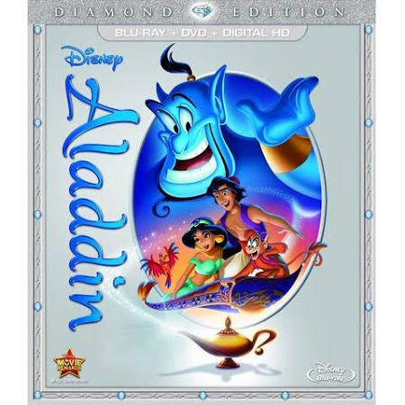 Aladdin: Diamond Edition (Blu-Ray/DVD/Digital HD) Scott Weinger, Linda Larkin, Jonathan Freeman