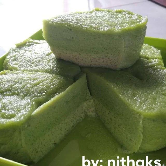 Resep Bingka Kukus Telur Pandan By Nitha Kumala Sari Resep Masakan Cemilan Resep