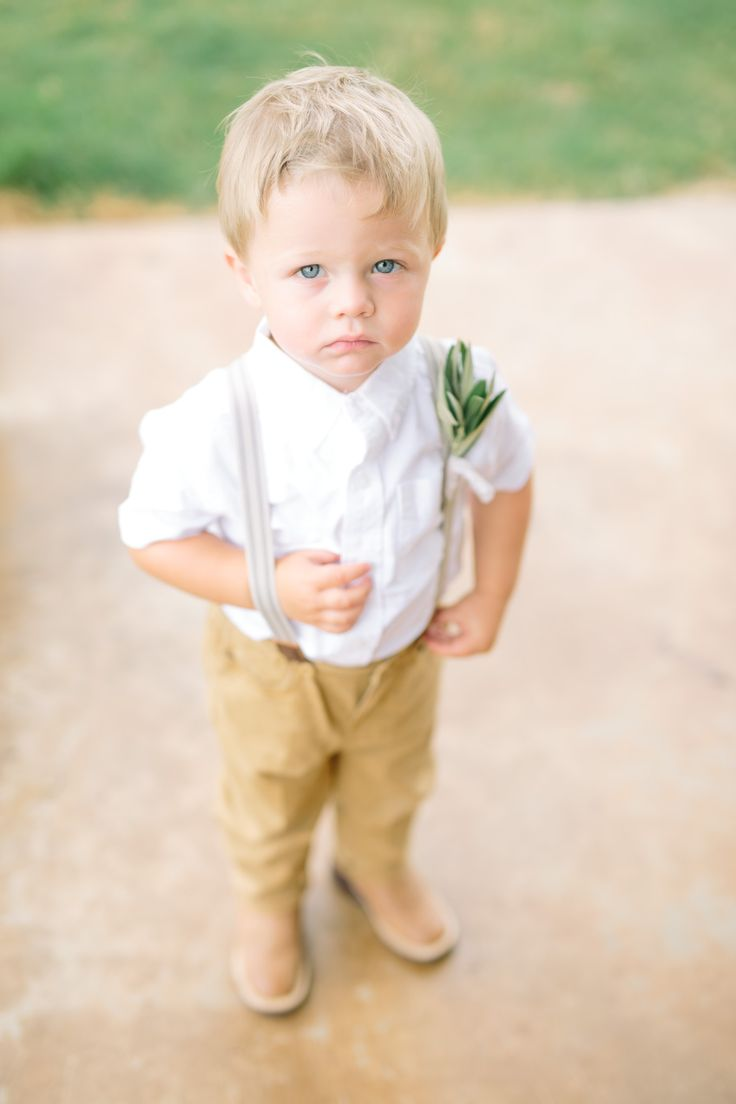 Cute Ring Bearer Outfit with Suspenders– Megan Kay Photography, Dallas Wedding Photography