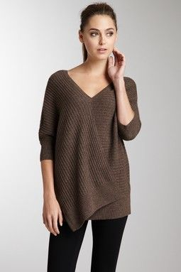Cocoon Ribbed Sweater