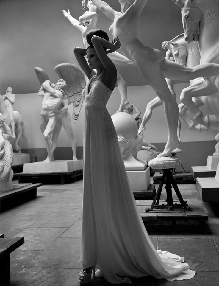 Shapes in White Rendez-Vous Alta Moda e Sposa n. 3 09/09/13  Photographer Ciro Zizzo Styling Cori Amenta Location Hendrik Christian Andersen Museum Roma #rendezvousdelamode #cirozizzo #coriamenta #abitidasposa #museoHendrikChristianAndersen #moda #modasposa #altamoda #altamodasposa #weddingdress