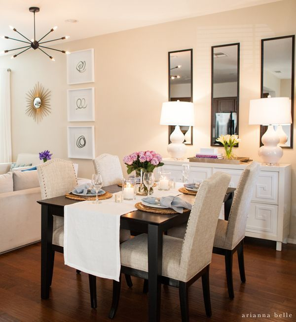 20 Small Dining Room Ideas On A Budget Smallroomdesignmodern Apartment Dining Room Small Dining Room Decor Small Apartment Living Room