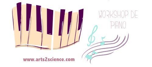 Este workshop de Piano destina-se a pessoas de qualquer idade e experiência, com ou sem conhecimentos musicais ou do instrumento.