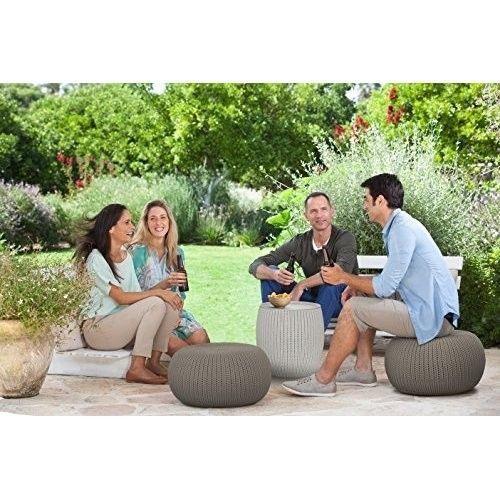 Furniture Seating Poufs Footstool Patio Indoor Outdoor Table Home Garden Decor #FurnitureSeatingPoufs