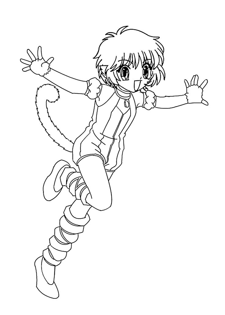 137 best anime coloring pages images on pinterest for Mew coloring pages