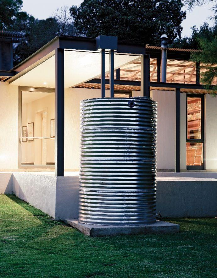 Cistern Amp Modern Gutter Green Features Rainwater