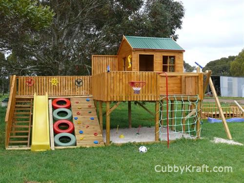 Timberwolf Cubby Home, playground gear