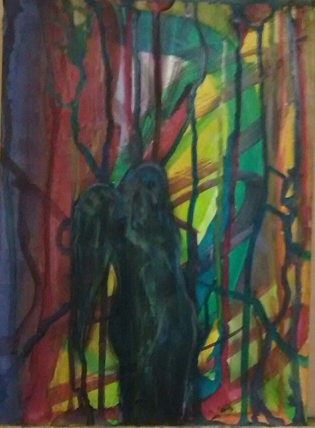 Amantes en la selva