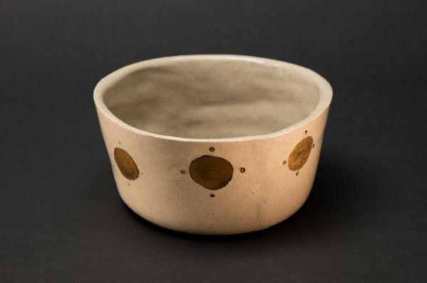 Small Press Moulded Stoneware Bowl by Alice Walton