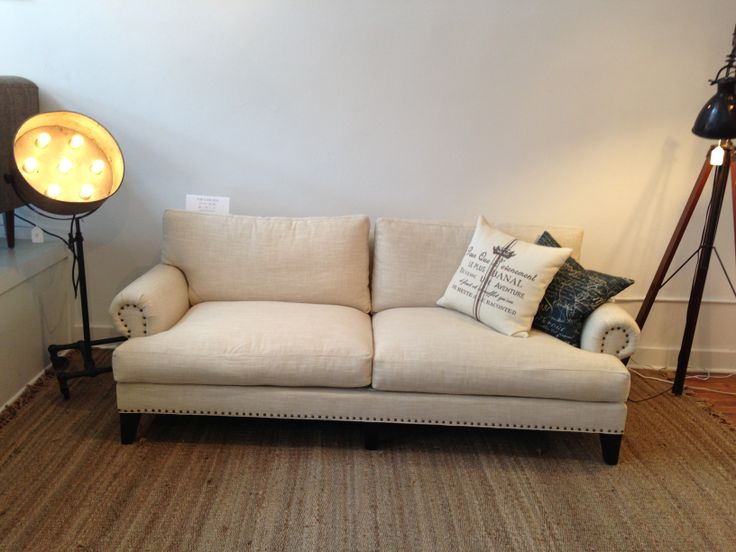 From Perch Furniture · Check Out Our Carlisle Sofa! It Has Beautiful  Traditional Lines With Nail Head Details That