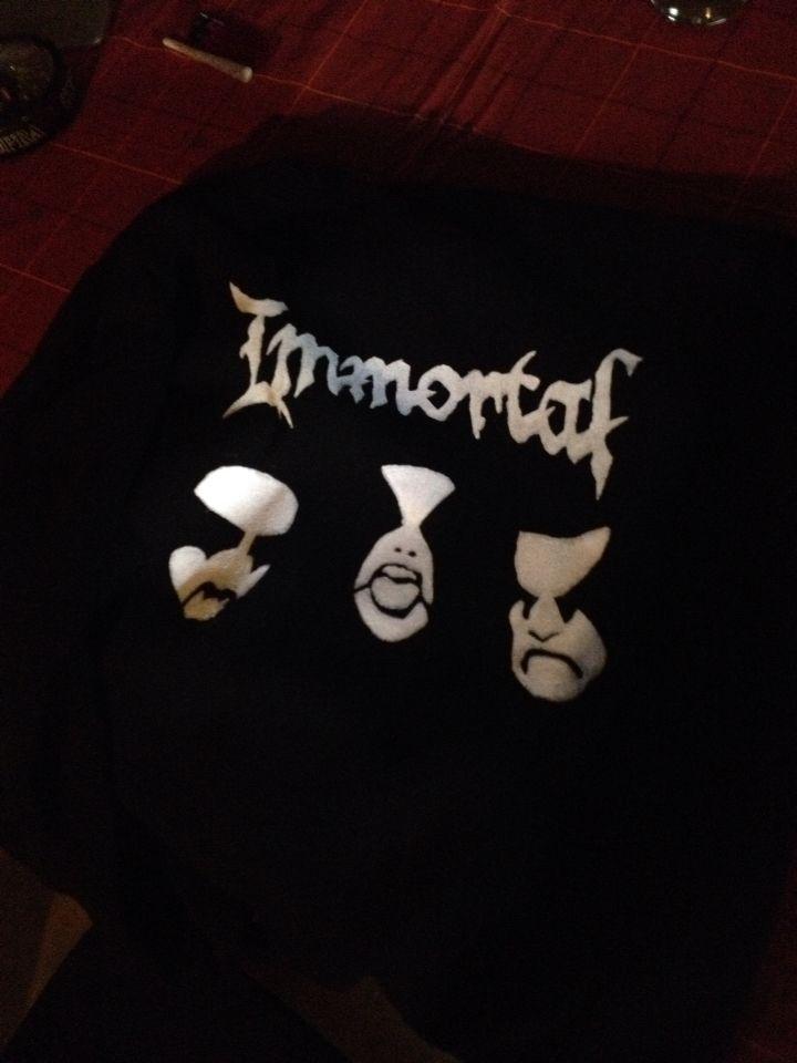 Immortal hoodie  Handpainted on request
