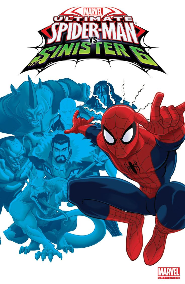 Marvel Universe Ultimate Spider-Man vs. The Sinister Six Vol. 1 #Marvel @marvel @marvelofficial #SpiderMan #SinisterSix Release Date: 1/4/2017