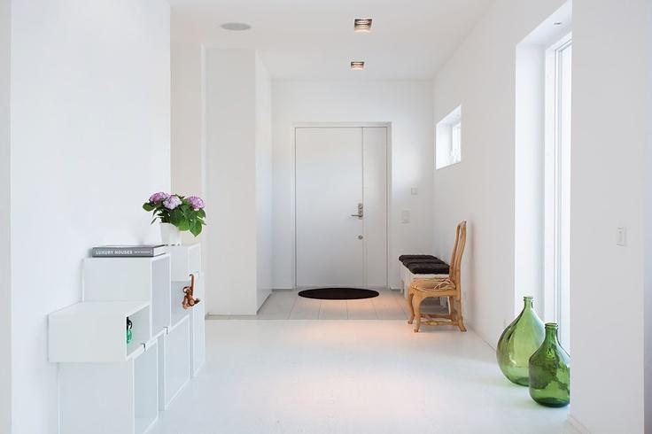 Modern swedish villa by thomas eriksson loft atelier pinterest building building villas and house tours