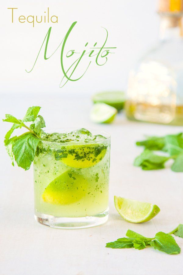 Tequila Mojito Cocktail Recipe | Delicious Everyday