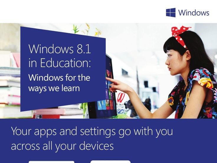 Find out creative ways students can learn with the brand new Windows 8.1 in Education Infographic