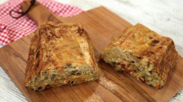 Arda'nın Mutfağı Sebzeli Makarna Böreği Tarifi 13.11.2016