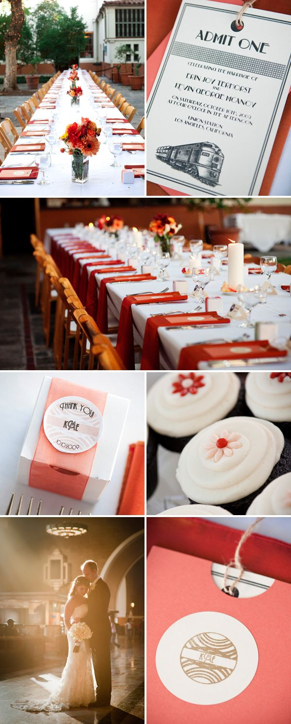 wedding receptions in downtown los angeles%0A Fall Wedding in Historic Downtown LA