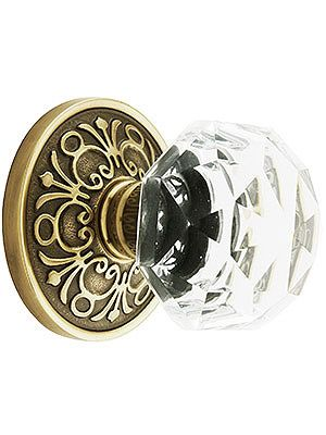 DIY {gorgeous reproduction glass door knobs... I want these for my house.}