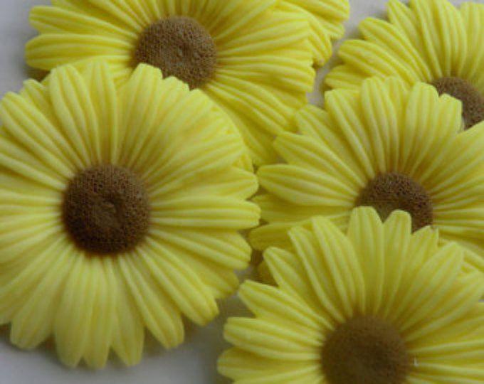 30 Sunflower Soap Favors Garden Baby Shower Favors Sunflower