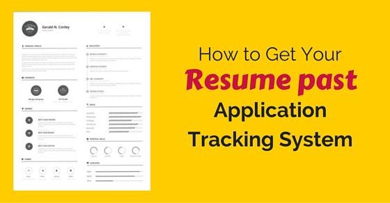 The application tracking system plays its role and pre-filters many resumes based on keywords and key phrases. So only most competent ones reaches the human eye and further called for an interview.