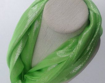 Check out Green Handmade Scarf Gifts for her under 25 Ready to ship Gifts for Coworkers, Ship Direct Holiday gifts, Gifts for Friends to mail out on blingscarves