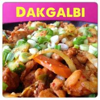 Korean Stir Fried Chicken Dakgalbi 닭갈비 | The Squishy Monster