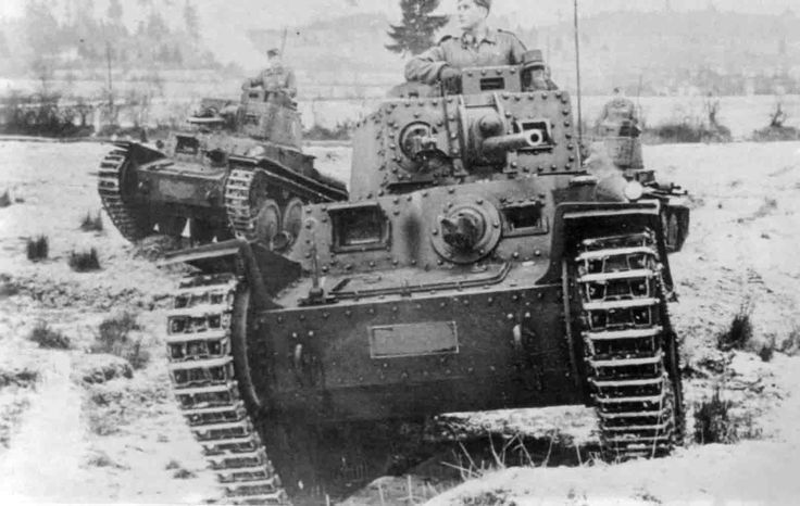 Pz.38 Light Tanks from the Slovak Expeditionary Army