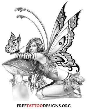 fairy tattoo designs for women | Tattoo Designs For Women Fantasy Of Cute Fairy Tattoos - kootation.com