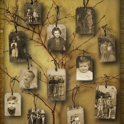 a modern..genealogical tree