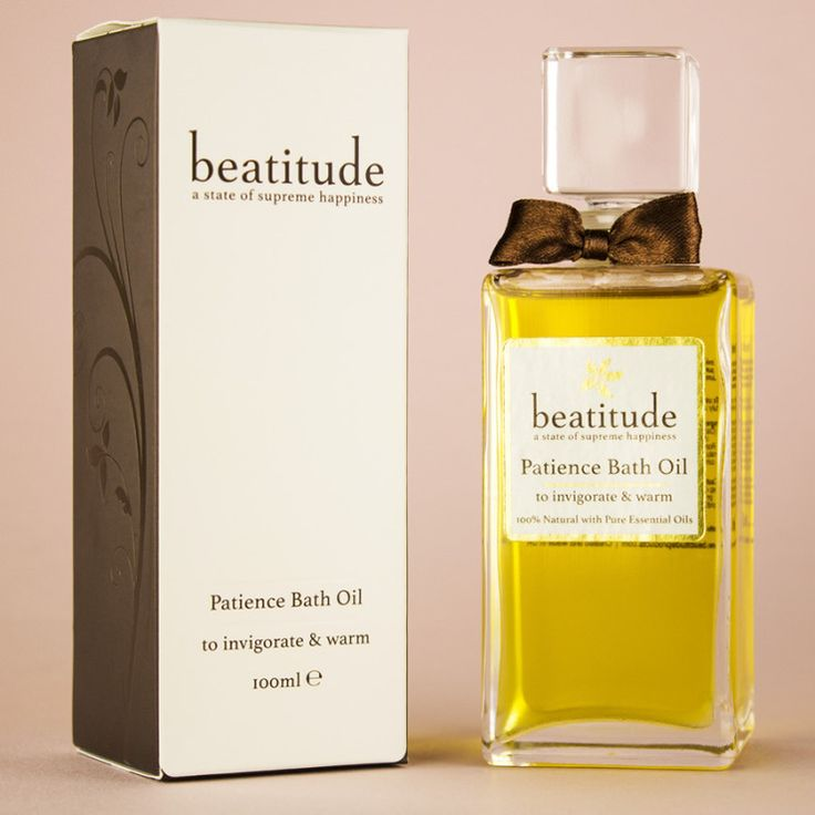 Beatitude - Patience Aromatherapy Bath Oil 50ml, £24