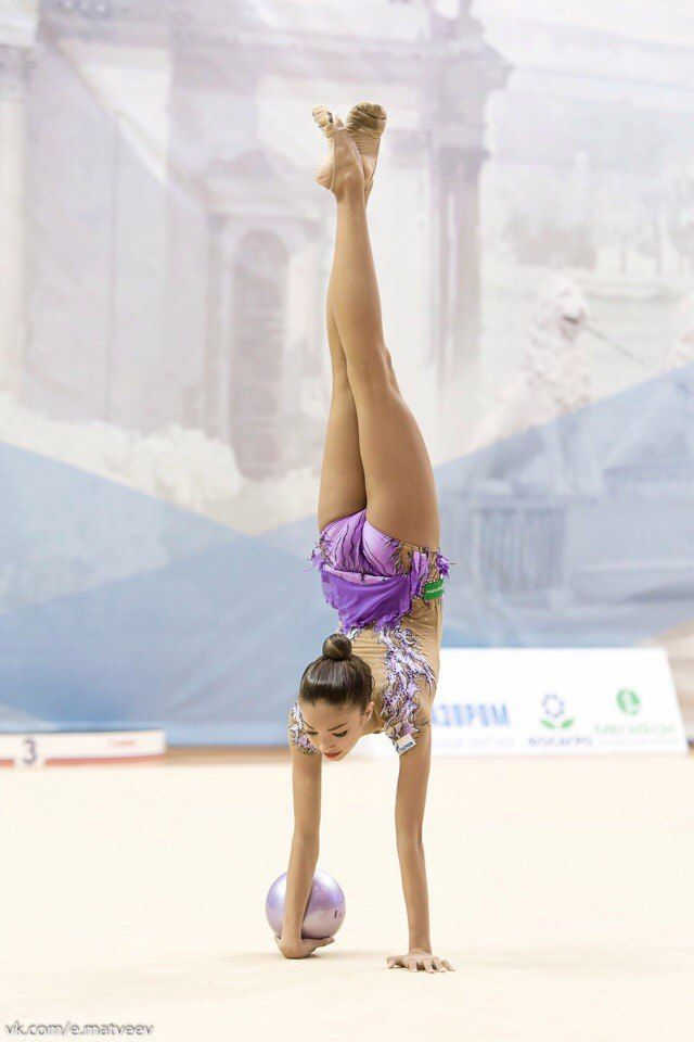 Ekaterina Ayupova (Russia), junior, ball 2016