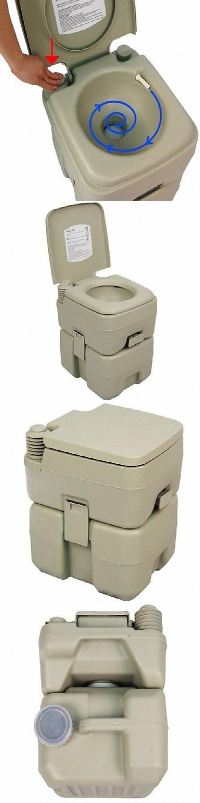 Portable Toilets and Accessories 181397: Self-Contained Portable Travel Toilet For Camp Site, Boat, Rv, Other Recreations -> BUY IT NOW ONLY: $89.06 on eBay!