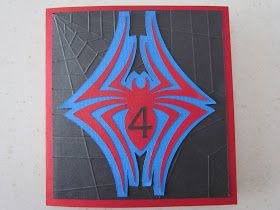 Ribbons & Glue: Spider Card