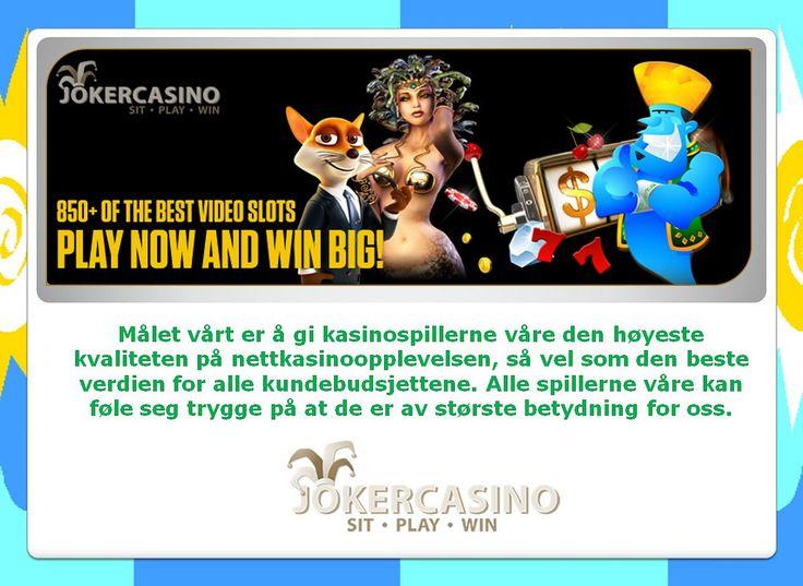 https://flic.kr/p/FSHTH4 | norsk kasino, casinospill, Joker Casino |  Follow us : www.jokercasino.com/no  Follow us : kasinobonuser.wordpress.com  Follow us : followus.com/kasino-bonuser