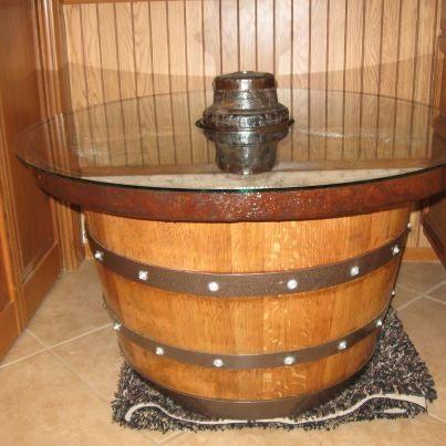96 best Wine Barrel Decor images on Pinterest Wine barrel