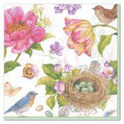 Caspari Napkins, Caspari, Napkins, Floral | PaperStyle
