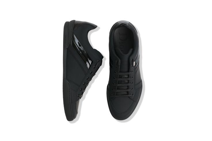 Sneaker cuir noir - Souliers Dior