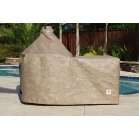 100% waterproof Big Green Egg cover at a fraction of the cost! Amazing product!