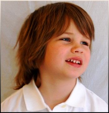 """THIS is the haircut I want for Trey! Keep his hair long...but make it more """"boy-ish"""" Perfect!"""