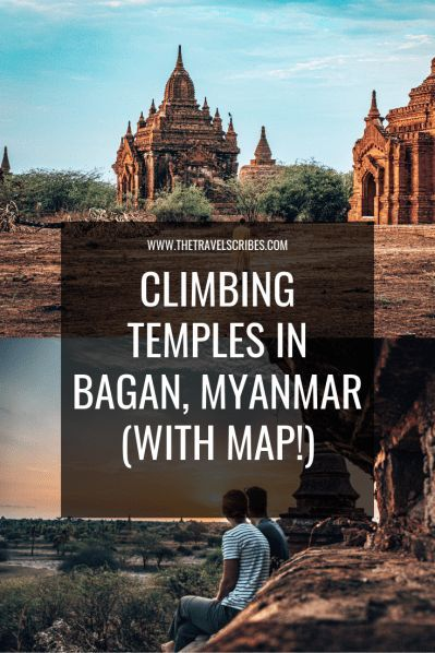 Your Guide to Bagan temples including map