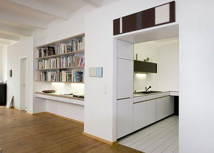 Unique Berlin Mitte Innenausbau K che Bibliothek Ankleide