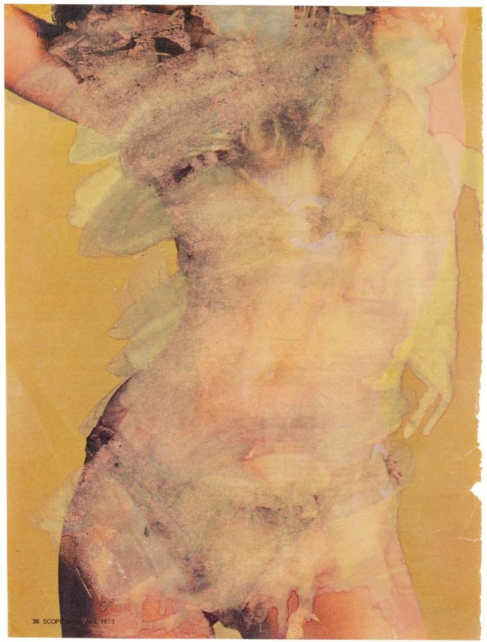 Scope Magazine Pin-up (1973) Marlene Dumas