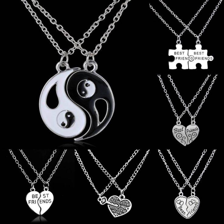 Bespmosp 2PCS Best Friends Key Lock Puzzle Heart BFF Yin Yang White Black Pendant Necklace Friendship Women Men Jewelry Collar  // Price: $US $0.78 & FREE Shipping //  Buy Now >>>https://www.mrtodaydeal.com/products/bespmosp-2pcs-best-friends-key-lock-puzzle-heart-bff-yin-yang-white-black-pendant-necklace-friendship-women-men-jewelry-collar/  #Best_Buy