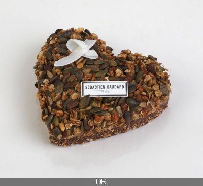 2017 - Chocolove by Sébastien Gaudard : à la fois vegan sans gluten et sans sucre raffiné, cette création se compose de cacao cru, avocat, amandes, flocons de noix de coco, huile de coco, noix de cajou, lait de coco, maca, Caroube de Pérou, dattes, cannelle, vanille et sel. 22 €