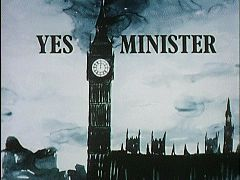 Yes Minister is a satirical British sitcom written by Antony Jay and Jonathan Lynn that was first transmitted by BBC Television between 1980 and 1984, split over three seven-episode series. The sequel, Yes, Prime Minister, ran from 1986 to 1988. In total there were 38 episodes—of which all but one lasted half an hour. Several episodes were adapted for BBC Radio, and a stage play was produced in 2010.