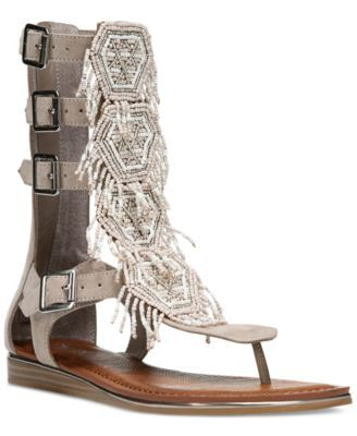 Carlos by Carlos Santana Taos Beaded Gladiator Sandals $99.00 Tap into the gladiator trend with these embellished Taos sandals from Carlos by Carlos Santana.