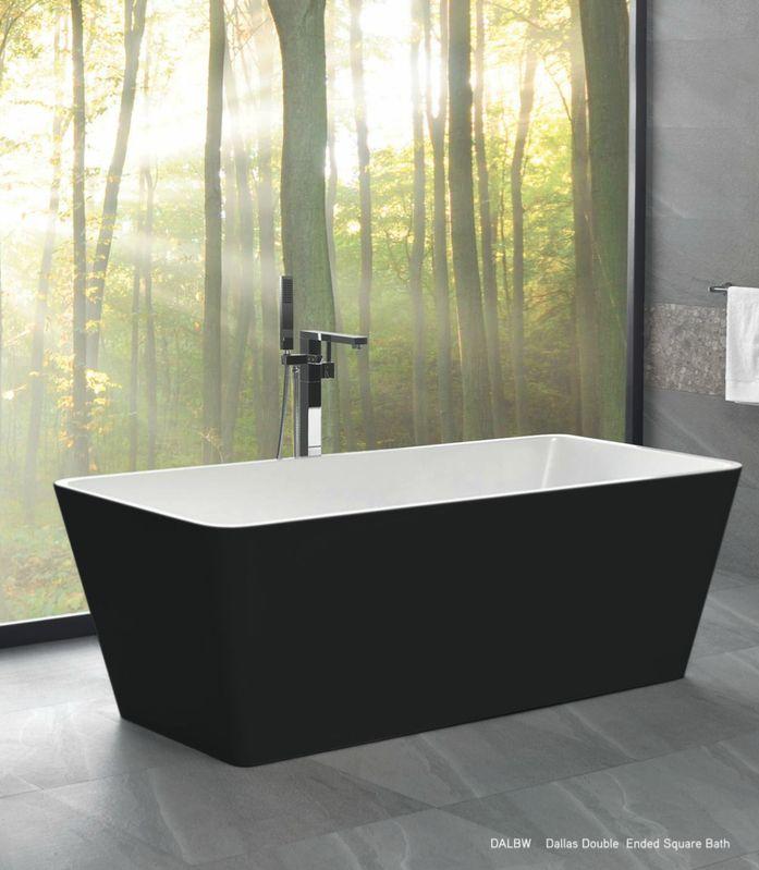 Newtech - Dallas double Ended square bath