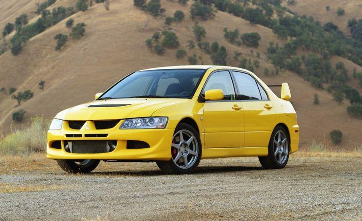 2005 Mitsubishi Lancer Evolution Vehicule