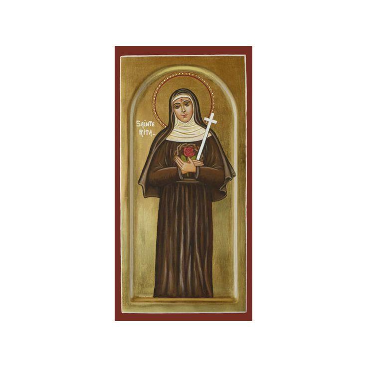 Icon of Saint Rita of Cascia (Réf. IC_9215) - Sale of religious icons