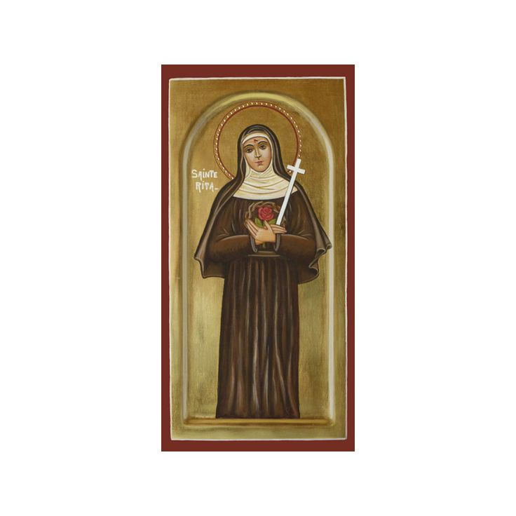 Icon of Saint Rita of Cascia (Réf. IC_9215) - Sale of religious icons